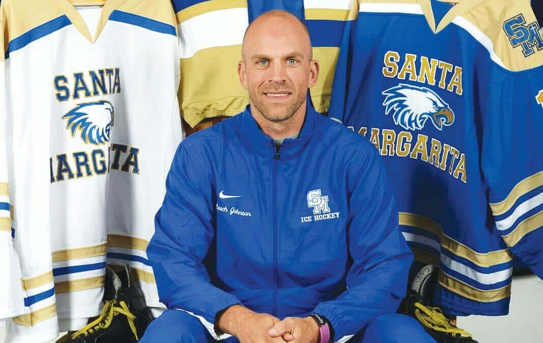 Coach Craig Johnson Steps Down as Santa Margarita Catholic High School's Head Ice Hockey Coach