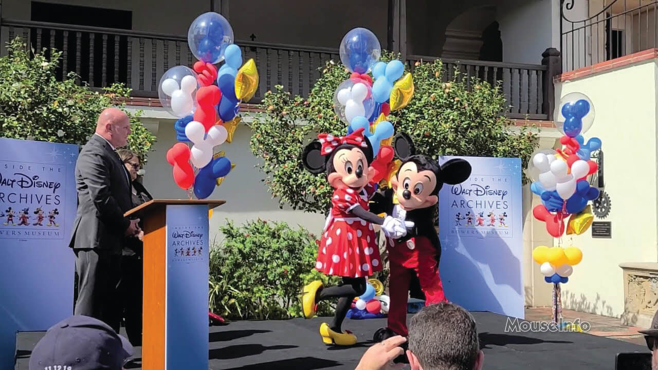 Bowers Museum Now Open Featuring 50 Years of the Walt Disney Archives